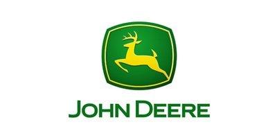John Deere hydraulics repair company logo
