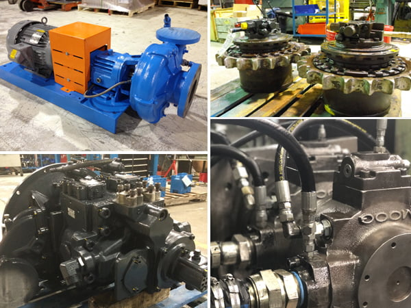 Hydraulic Repair Services for Hydraulic Cylinders, Pump and more