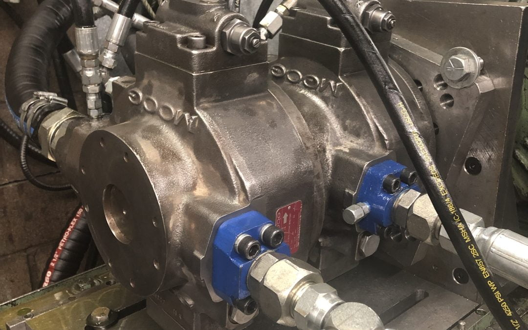 Hydraulic Hose Installation